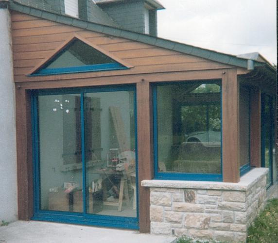 Document sans titre for Construction d une veranda